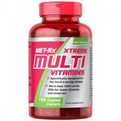 MET-RX - MultiVitamin - 100 kaps