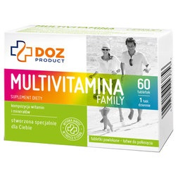 Multivitamina Family, 60 tabletek