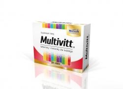 MULTIVITT - 60 tabletek
