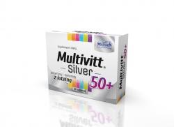 Multivitt Silver 50+  - 60 tabletek