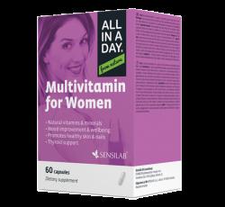 SENSILAB  Multiwitamina dla kobiet, 60 kapsułek