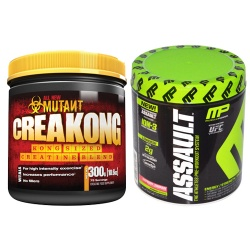 PVL - Mutant CreaKong + Assault - 300g + 290g