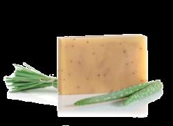 Mydło aloesowe z indyjską trawą cytrynową , mydło, 90g
