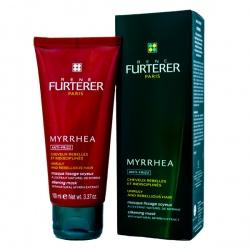 RENE FURTERER MYRRHEA Maska jedwabiście wygładzająca do włosów zniszczonych suszeniem 100ml