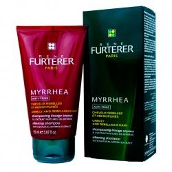 RENE FURTERER MYRRHEA Szampon jedwabiście wygładzający włosy niezdyscyplinowane zniszczonych 150ml