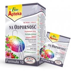 Na Odporność Formuła 10, herbata ziołowa, 40g