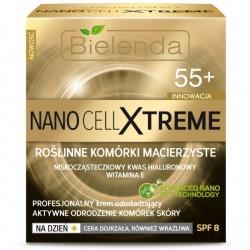 Nano Cell Xtreme Profesjonalny krem odmładzający 55+ na dzień SPF 8, krem, 50 ml