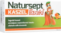 Natur-sept kaszel , lizaki, 6 sztuk