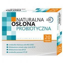 Ziołovital - Probiotyk LGG - Naturalna Osłona Probiotyczna - 20 tab