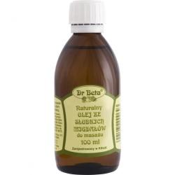 Naturalny olej ze słodkich migdałów 100 ml