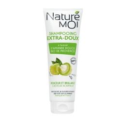 Nature Moi, szampon do włosów normalnych, olej ze słodkich migdałów, 250 ml