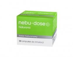 Nebu-Dose, roztwór z kwasem hialuronowym do inhlacji, 30 ampułek po 5ml