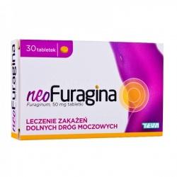 NeoFuragina - Furaginum, 30 tabletek