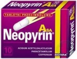Neopyrin Asa, 10 tabletek