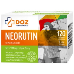 DOZ Product Neorutin, tabletki powlekane, 120 szt