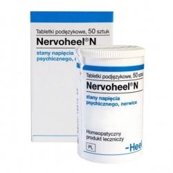 Nervoheel N, tabletki, 50 sztuk