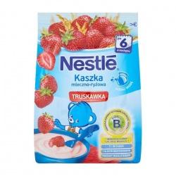 Nestle kaszka mleczno-ryżowa truskawka 230g