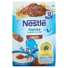 Nestle kaszka mleczno-ryżowa z kakao 230g