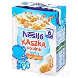 Nestle, kaszka do picia, mleczna, 8 zbóż z miodem, 200 ml