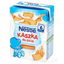 Nestle, kaszka do picia, mleczno-pszenna z herbatnikami, 200 ml