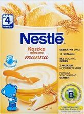 Nestle, kaszka, mleczna, manna, 250 g