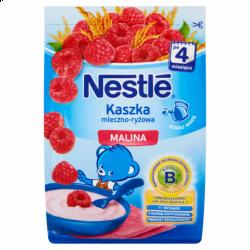 Nestle, kaszka mleczno-ryżowa, malina, 230 g