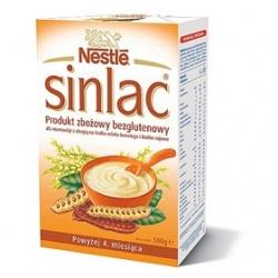 Nestle Sinlac odżywka zbożowa dla niemowląt po 4 miesiącu 500g