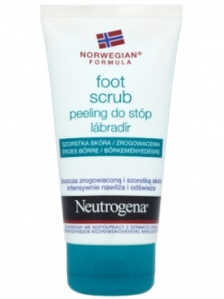 Neutrogena Formuła Norweska, peeling do stóp, 75 ml, tuba
