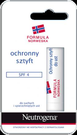 Neutrogena Formuła Norweska, pomadka w sztyfcie F20, 4,8 g