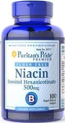 NIACYNA 500mg Kwas Nikotynowy Witamina B3