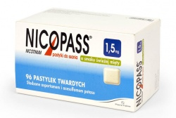 Nicopass, pastylki, 96 sztuk
