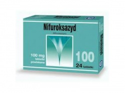 Nifuroksazyd, tabletki powlekane (Hasco), 100 mg, 24 szt