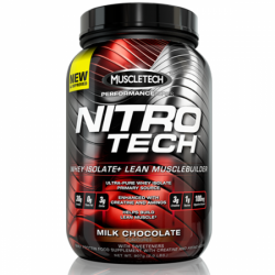MUSCLE TECH - Nitro Tech Performance Series - 908 g