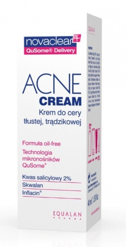 EQUALAN  Novaclear Acne Cream, 40 ml