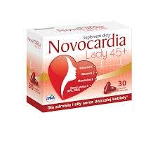 Novocardia Lady 45+, Asa, 30 kapsułek