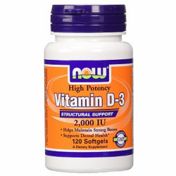 Now Foods Vitamin D3 2000