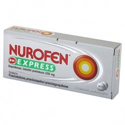 Nurofen Express, tabletki, 6 szt