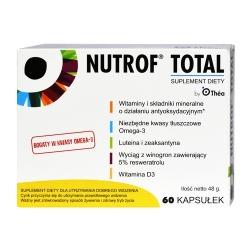 Nutrof Total, z witaminą D3, 60 kapsułek
