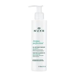 Nuxe Aroma Perfection, głęboko oczyszcający żel do mycia twarzy, skóra mieszan