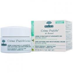 Nuxe Creme Fraiche, 24-godzinna emulsja nawilżająca i kojąca, 50 ml
