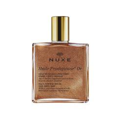 Nuxe Huile Prodigieuse OR, olejek suchy, ze złotymi drobinkami, wiele zastosowań, 50 ml