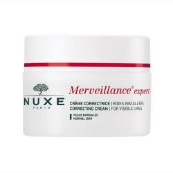 Nuxe Merveillance, krem korygujący widoczne zmarszczki, skóra normalna, 50 ml