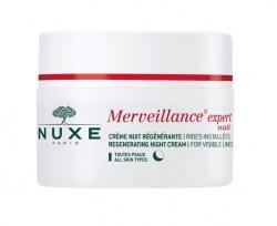 Nuxe Merveillance Nuit, regenerujący krem na noc, redukujący widoczne zmarszczki, 50 ml
