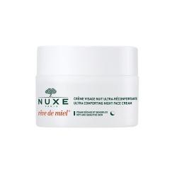 Nuxe Reve de Miel, krem ultrakomfortowy, do twarzy, na noc, 50 ml
