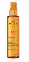 Brązujący olejek do opalania twarzy i ciała SPF 10 NUXE Sun, 150 ml