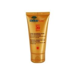 Zachwycający krem do opalania twarzy SPF 30 NUXE Sun, 50 ml