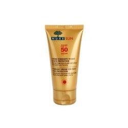 Zachwycający krem do opalania twarzy SPF 50 NUXE Sun, 50 ml