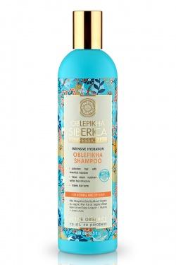 Natura Siberica, Rokitnikowy szampon do włosów suchych i normalnych, 400ml