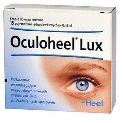 Heel-Oculoheel Lux, krople do oczu 15 minimsów