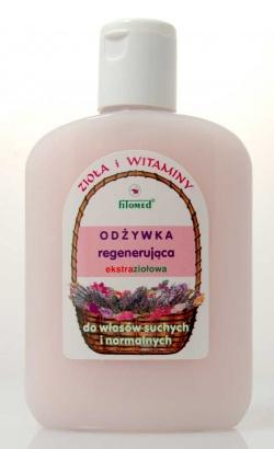 Odżywka ziołowa regenerująca do włosów suchych i normalnych (Zioła i witaminy) , 200 ml